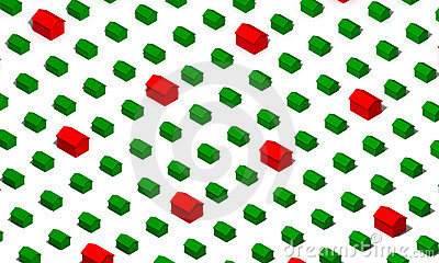 Green and Red Houses