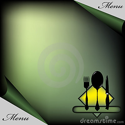 Green restaurant menu