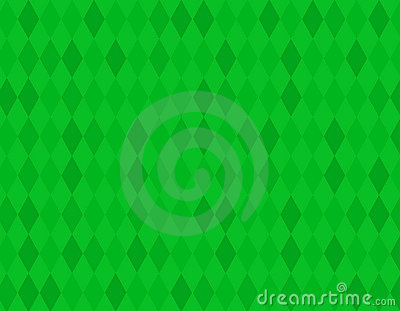Green rhombus background