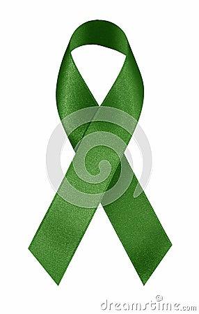 Free Green Ribbon Royalty Free Stock Photos - 3394598