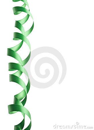 Green Ribbon Border