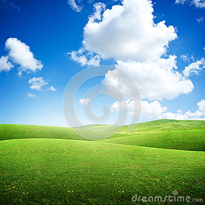 Free Green Rolling Fields Stock Photos - 40026193