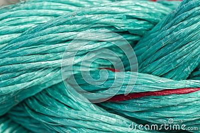 Green ropes