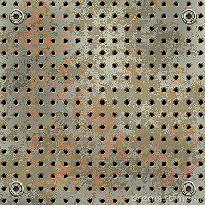 Free Green Rusty Metall Mesh Royalty Free Stock Image - 21996556