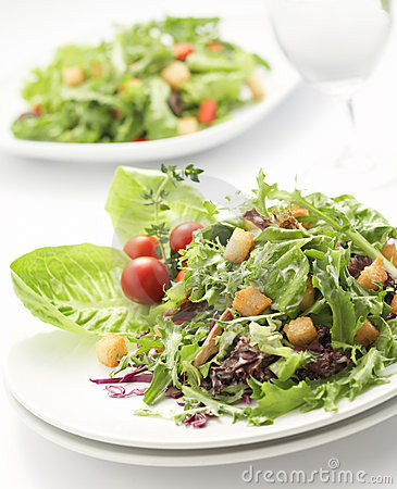 Free Green Salad Stock Image - 3438301