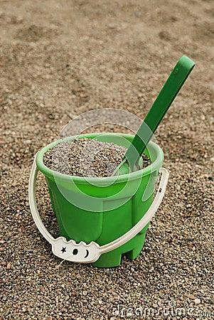 Green sand bucket