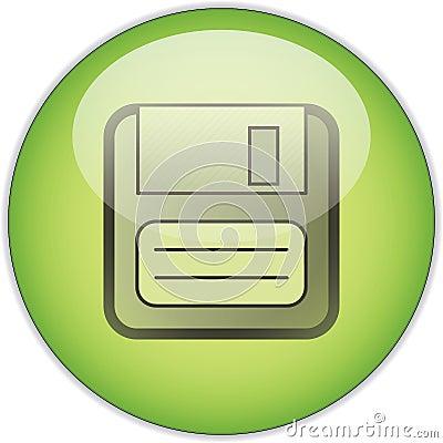 Green Save button