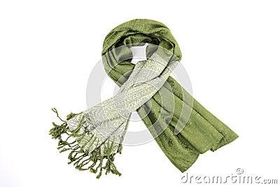 Green scraf