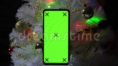 Green Screen Phone. Chroma Key For Graphics. Untitled ...