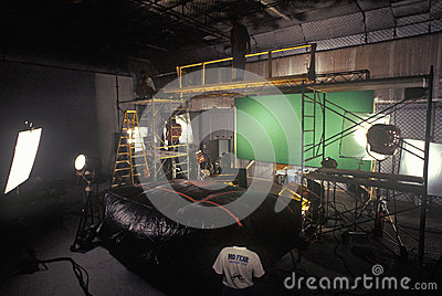 Green screen Scene from set of  Temptation  Editorial Stock Image