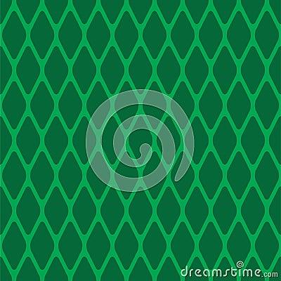 Green seamless rhomb