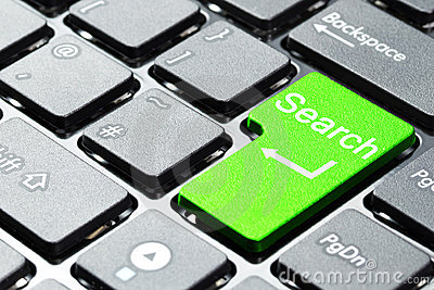 Green search button