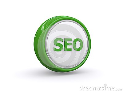 Green SEO button
