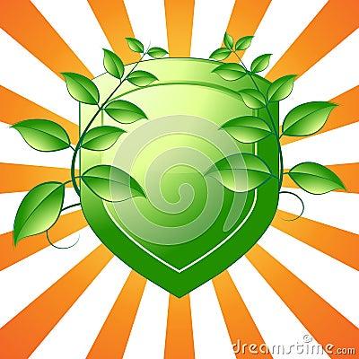 Green Shield Emblem