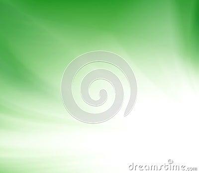 Green shine rays burst