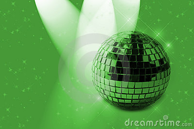 Green Shiny Ornament