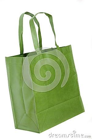 Free Green Shopping Bag Royalty Free Stock Photo - 3081895