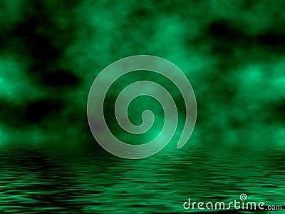 Green Sky & Water