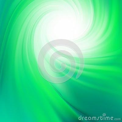 Green smooth twist light lines. EPS 8