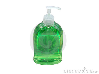 Green Soap Stock Photos - Image: 1061103
