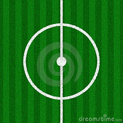 Green Soccer Field Details
