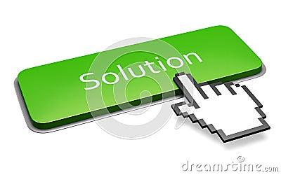 Green Solution button