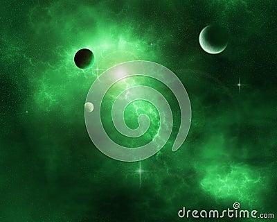 Green Space Nebula