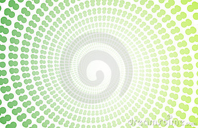 Green Spiral Copyspace Backdrop