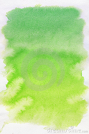 Free Green Spot, Watercolor Abstract Background Stock Images - 15496724