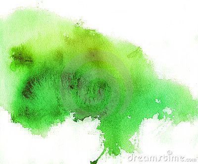 Green Spot Watercolor Background Royalty Free Stock Photo Image 16787625