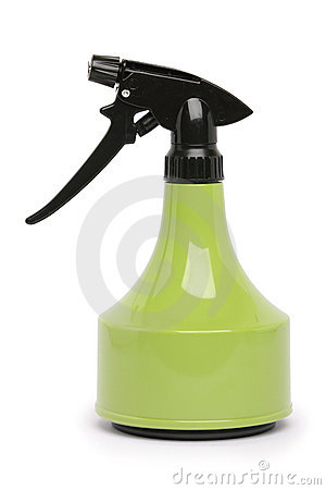 Free Green Spray Bottle Royalty Free Stock Images - 19515639