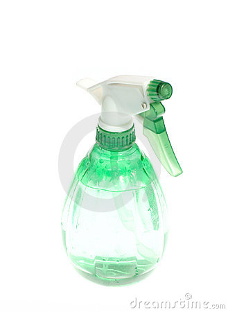 Free Green Spray Bottle Royalty Free Stock Photography - 4291757