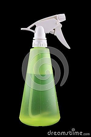 Free Green Spray Bottle Stock Image - 8954891