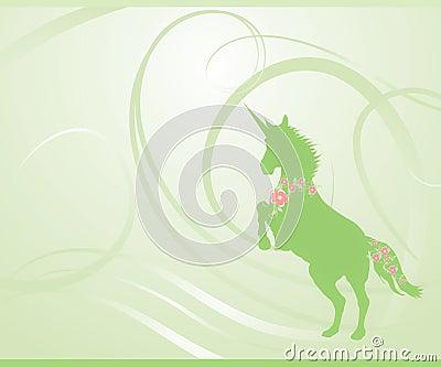 Green Spring Unicorn