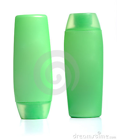 Green Squeeze Bottles