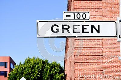 Green St