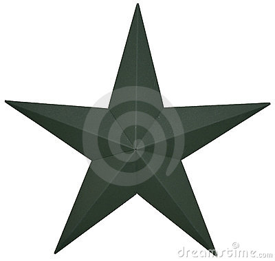 Free Green Star Stock Photography - 15775872