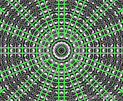 Green Star Mandala