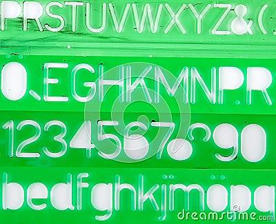 Green stencils