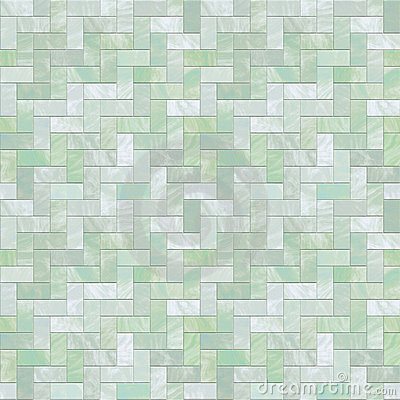 Green Stone Floor Seamless Pattern