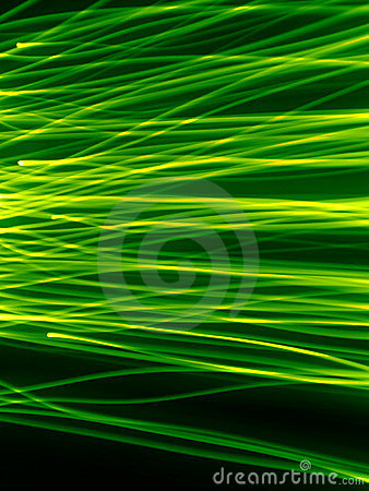 Green strimmor