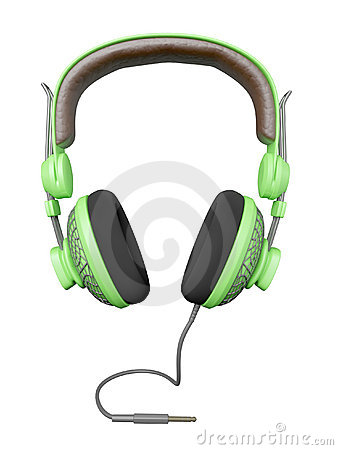 Green and stylish headset