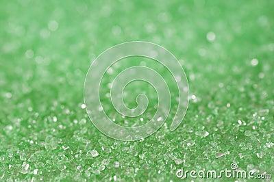 Green sugar sparkle background