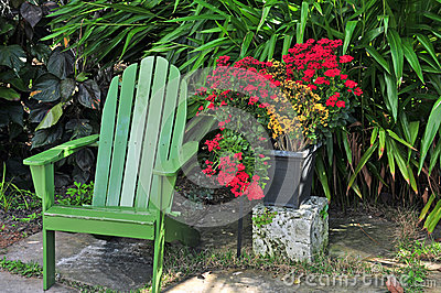 Green Summer Chair