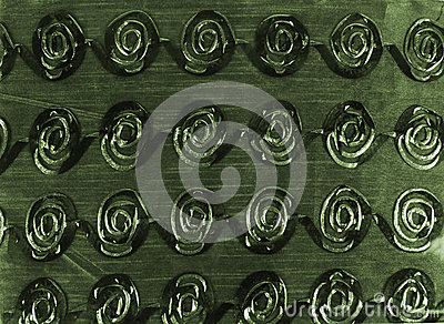 Green Swirling Background