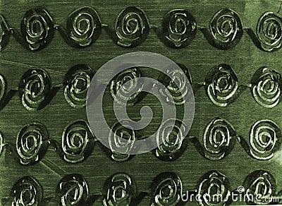 Green Swirling Background