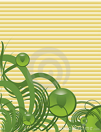 Green tan abstract background 1