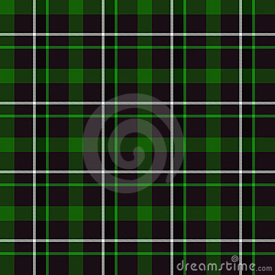 Green Tartan Seamless Pattern
