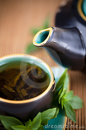 Free Green Tea Royalty Free Stock Photography - 10961357