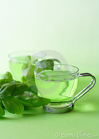 Free Green Tea Stock Image - 1510341